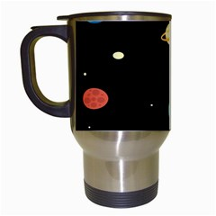 Planets Space Travel Mugs (white) by Mariart