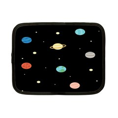Planets Space Netbook Case (small)  by Mariart