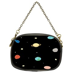Planets Space Chain Purses (two Sides)  by Mariart
