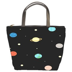Planets Space Bucket Bags by Mariart