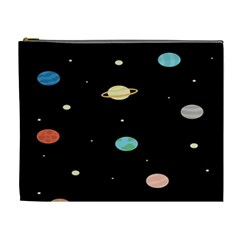 Planets Space Cosmetic Bag (xl) by Mariart