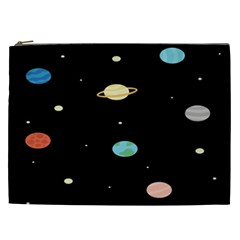 Planets Space Cosmetic Bag (xxl)  by Mariart