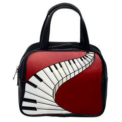 Piano Keys Music Classic Handbags (one Side) by Mariart