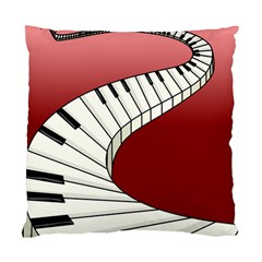 Piano Keys Music Standard Cushion Case (one Side)