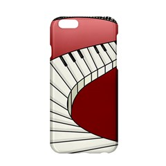 Piano Keys Music Apple Iphone 6/6s Hardshell Case by Mariart