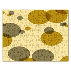 Polka Dots Rectangular Jigsaw Puzzl by Mariart
