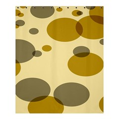 Polka Dots Shower Curtain 60  X 72  (medium)  by Mariart