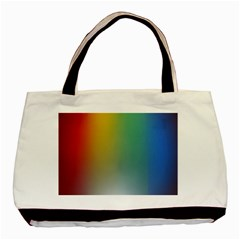 Rainbow Flag Simple Basic Tote Bag by Mariart