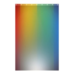 Rainbow Flag Simple Shower Curtain 48  X 72  (small)  by Mariart