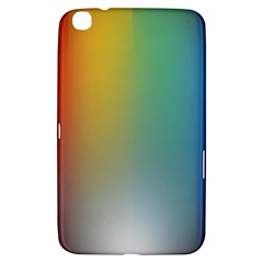 Rainbow Flag Simple Samsung Galaxy Tab 3 (8 ) T3100 Hardshell Case  by Mariart