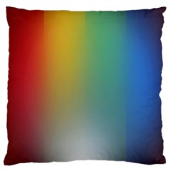 Rainbow Flag Simple Standard Flano Cushion Case (one Side) by Mariart