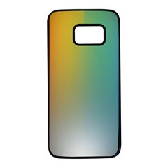 Rainbow Flag Simple Samsung Galaxy S7 Black Seamless Case by Mariart