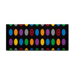Polka Dots Rainbow Circle Cosmetic Storage Cases by Mariart