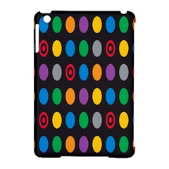 Polka Dots Rainbow Circle Apple Ipad Mini Hardshell Case (compatible With Smart Cover) by Mariart