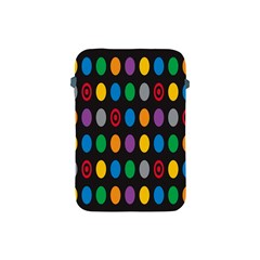 Polka Dots Rainbow Circle Apple Ipad Mini Protective Soft Cases by Mariart