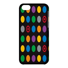 Polka Dots Rainbow Circle Apple Iphone 5c Hardshell Case by Mariart