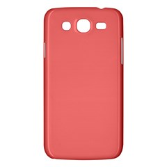 Coral Solid Color  Samsung Galaxy Mega 5 8 I9152 Hardshell Case  by SimplyColor