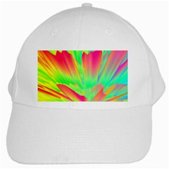 Screen Random Images Shadow Green Yellow Rainbow Light White Cap by Mariart