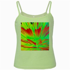 Screen Random Images Shadow Green Yellow Rainbow Light Green Spaghetti Tank by Mariart