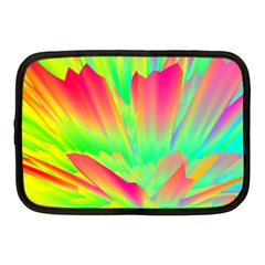 Screen Random Images Shadow Green Yellow Rainbow Light Netbook Case (medium)  by Mariart