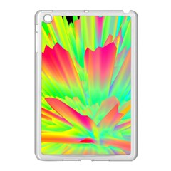 Screen Random Images Shadow Green Yellow Rainbow Light Apple Ipad Mini Case (white) by Mariart