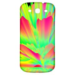 Screen Random Images Shadow Green Yellow Rainbow Light Samsung Galaxy S3 S Iii Classic Hardshell Back Case by Mariart