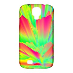 Screen Random Images Shadow Green Yellow Rainbow Light Samsung Galaxy S4 Classic Hardshell Case (pc+silicone)