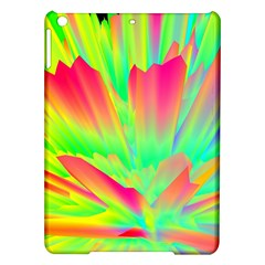 Screen Random Images Shadow Green Yellow Rainbow Light Ipad Air Hardshell Cases by Mariart