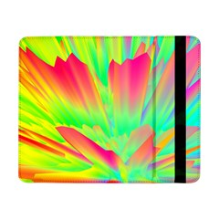 Screen Random Images Shadow Green Yellow Rainbow Light Samsung Galaxy Tab Pro 8 4  Flip Case by Mariart