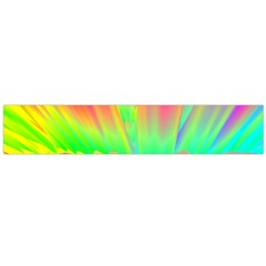 Screen Random Images Shadow Green Yellow Rainbow Light Flano Scarf (large) by Mariart