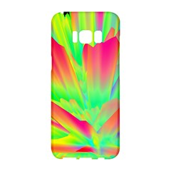 Screen Random Images Shadow Green Yellow Rainbow Light Samsung Galaxy S8 Hardshell Case  by Mariart
