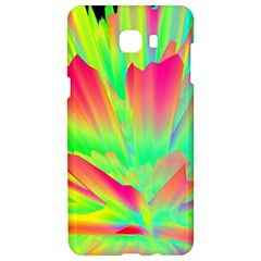 Screen Random Images Shadow Green Yellow Rainbow Light Samsung C9 Pro Hardshell Case  by Mariart