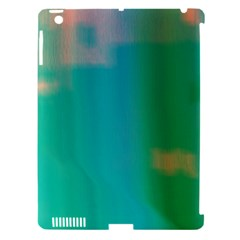 Shadow Faintly Faint Line Green Apple Ipad 3/4 Hardshell Case (compatible With Smart Cover) by Mariart