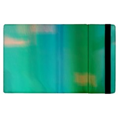 Shadow Faintly Faint Line Green Apple Ipad 3/4 Flip Case by Mariart