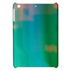 Shadow Faintly Faint Line Green Apple Ipad Mini Hardshell Case by Mariart