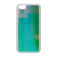 Shadow Faintly Faint Line Green Apple Iphone 5c Seamless Case (white) by Mariart