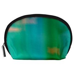 Shadow Faintly Faint Line Green Accessory Pouches (large)  by Mariart