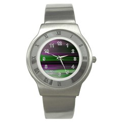 Screen Random Images Shadow Stainless Steel Watch by Mariart
