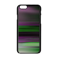 Screen Random Images Shadow Apple Iphone 6/6s Black Enamel Case by Mariart