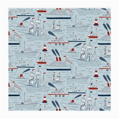Ships Sails Medium Glasses Cloth (2 Side) by Mariart