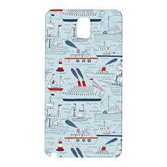 Ships Sails Samsung Galaxy Note 3 N9005 Hardshell Back Case by Mariart