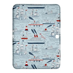 Ships Sails Samsung Galaxy Tab 4 (10 1 ) Hardshell Case  by Mariart