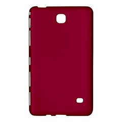 Burgundy Solid Color  Samsung Galaxy Tab 4 (8 ) Hardshell Case  by SimplyColor