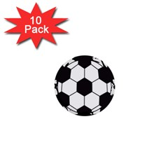 Soccer Camp Splat Ball Sport 1  Mini Buttons (10 Pack)  by Mariart