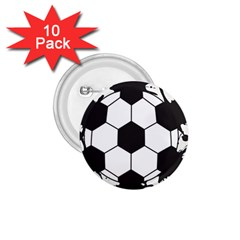 Soccer Camp Splat Ball Sport 1 75  Buttons (10 Pack) by Mariart