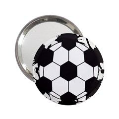 Soccer Camp Splat Ball Sport 2 25  Handbag Mirrors by Mariart