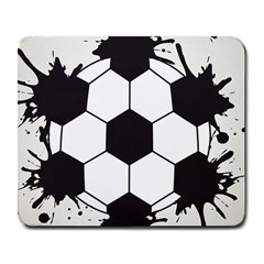Soccer Camp Splat Ball Sport Large Mousepads by Mariart