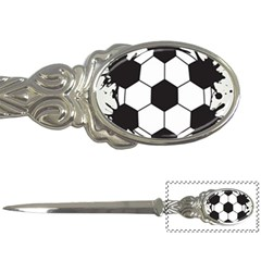 Soccer Camp Splat Ball Sport Letter Openers by Mariart
