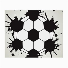 Soccer Camp Splat Ball Sport Small Glasses Cloth (2 Side) by Mariart