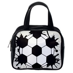 Soccer Camp Splat Ball Sport Classic Handbags (one Side) by Mariart